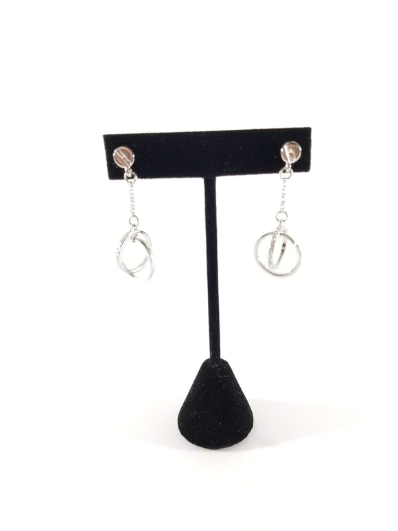 All To Myself Earrings-Silver