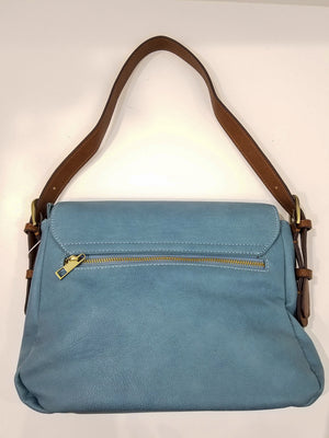 In Line With Style Purse In Blue
