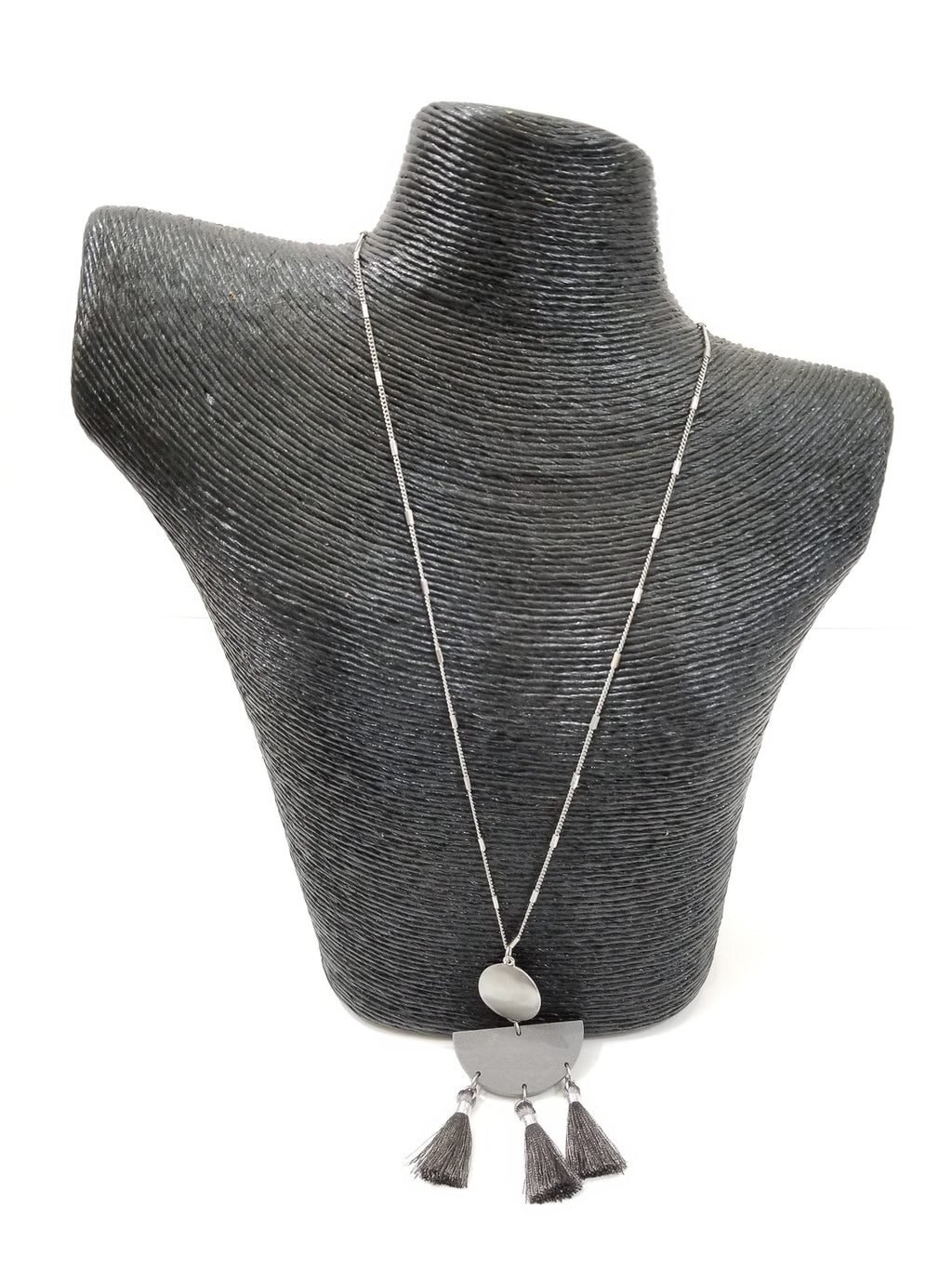 Tuscan Necklace-Gray