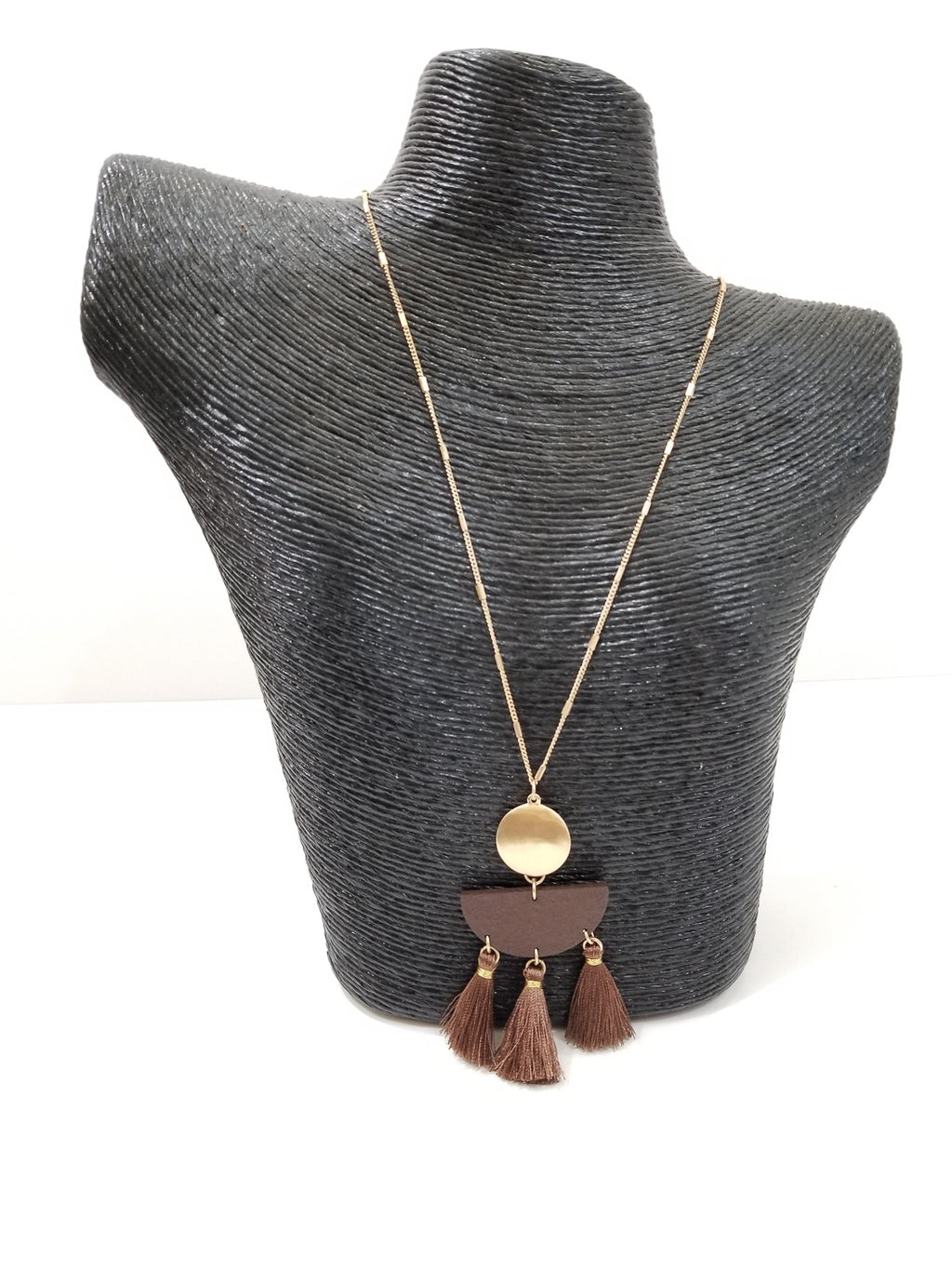 Tuscan Necklace-Brown
