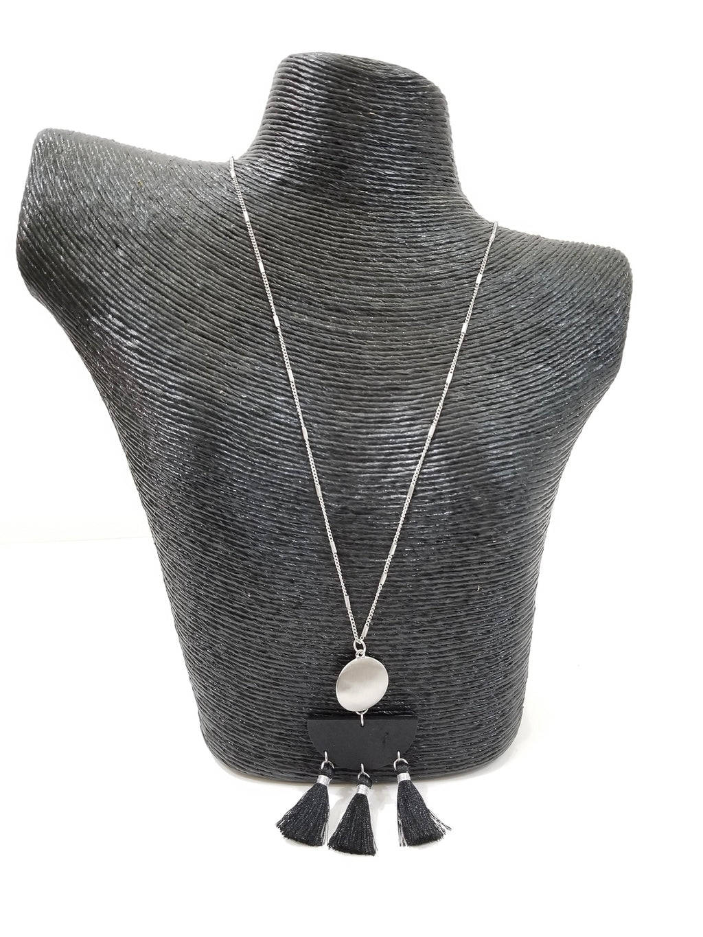 Tuscan Necklace-Black
