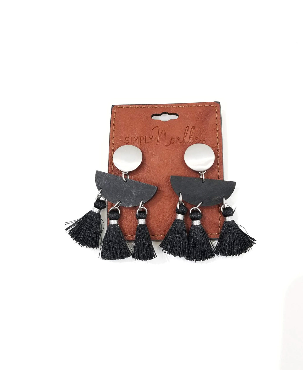 Tuscan Earrings-Black