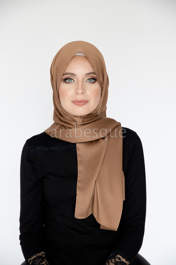The Hijab that compliments your skin tone