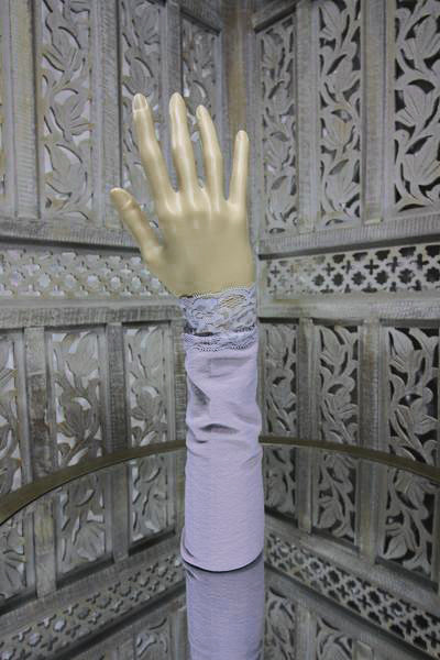 Lilac Sleeve Islamic Clothing Accessories Online