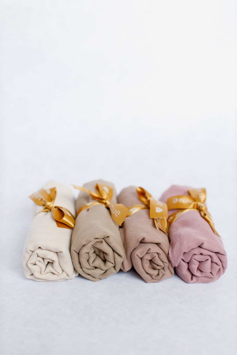 Viscose/Cotton Blend Hijab Gift Set