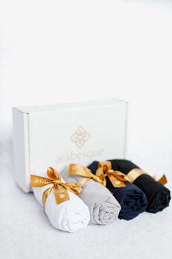 Plain Georgette Hijab Gift Set