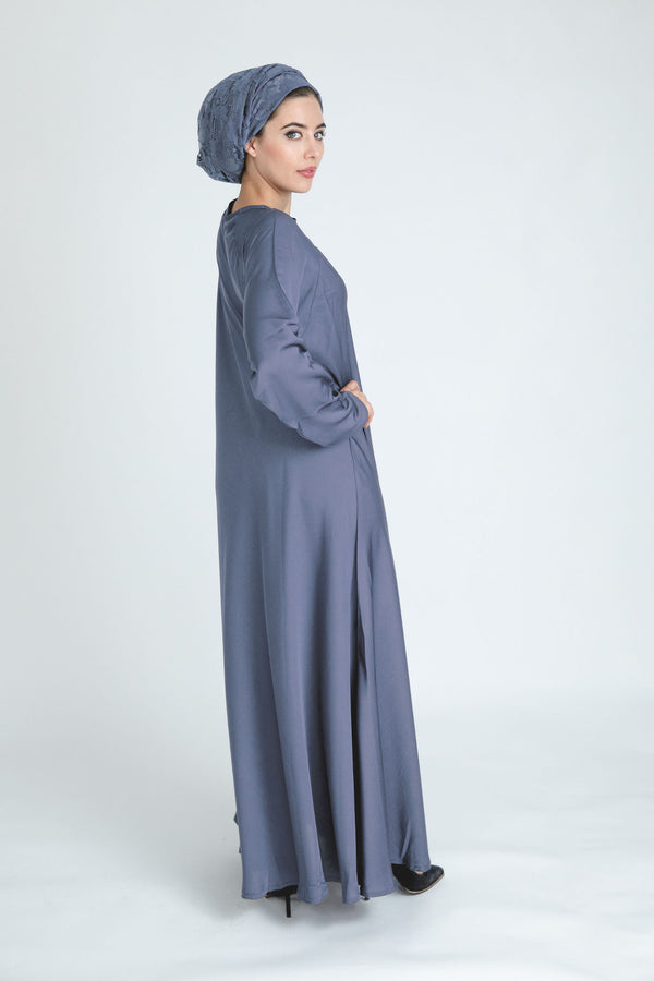 Grey Umbrella Abaya