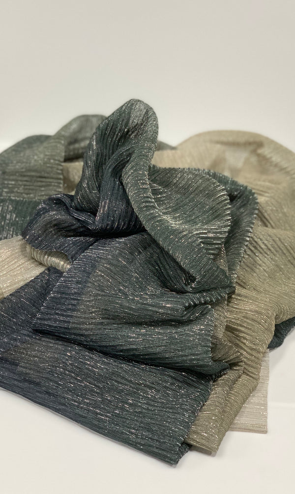 Grey Viscose Sparkle Hijab UK Hijab Online