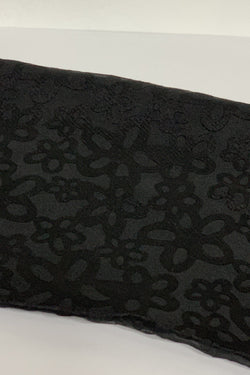 Black Assorted Flower Hijab