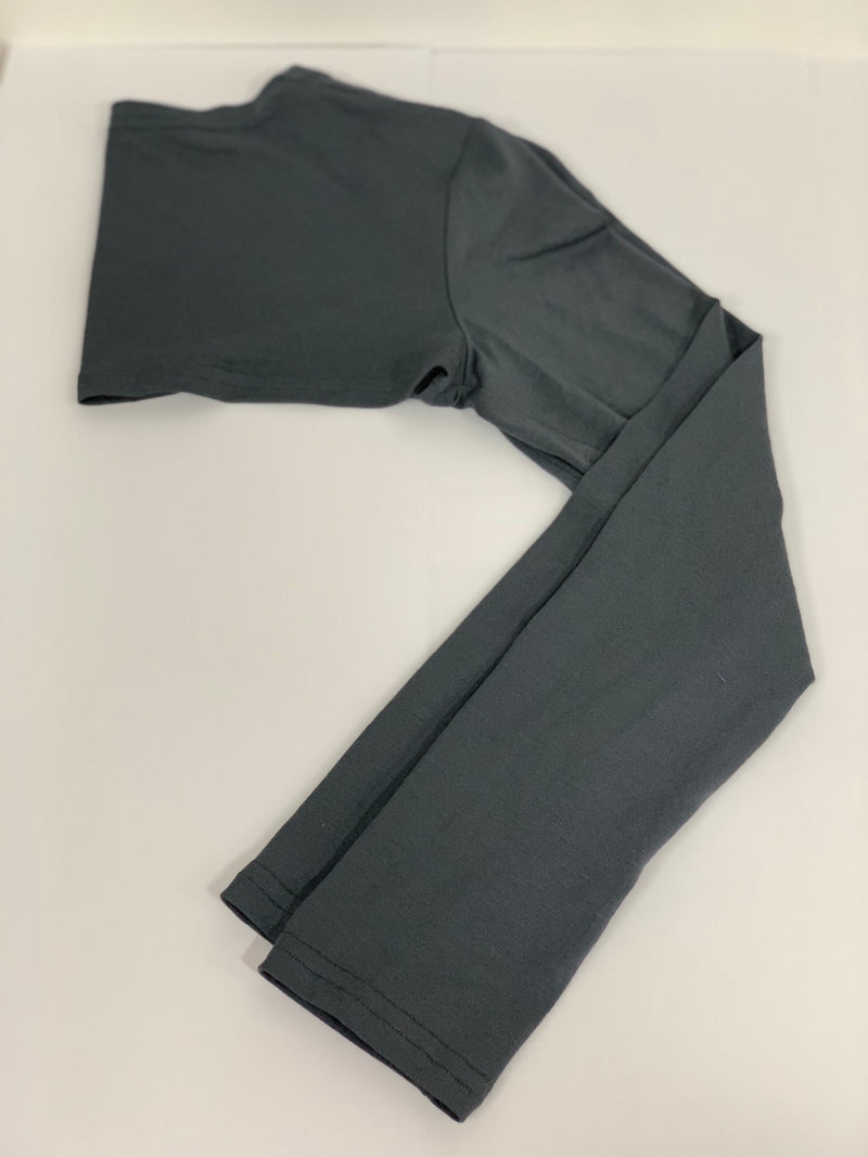 Dark Grey Connected Sleeves Accessories