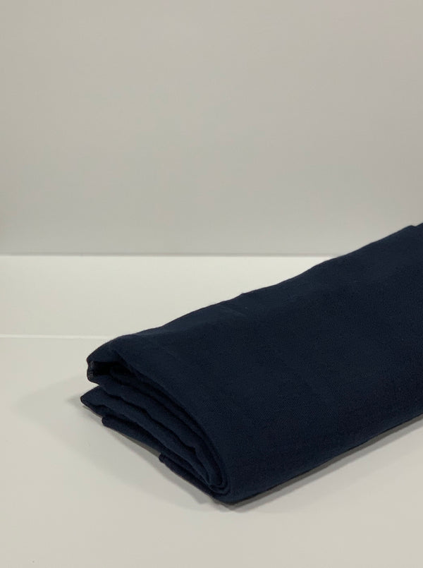 Navy Plain Hijab Online Hijab UK