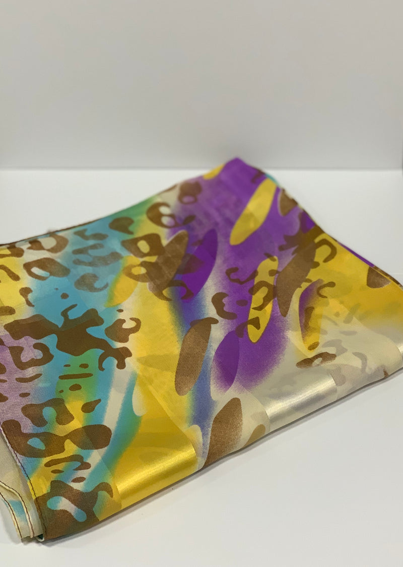 Light Beige Cheetah Print Hijab | Printed Hijabs