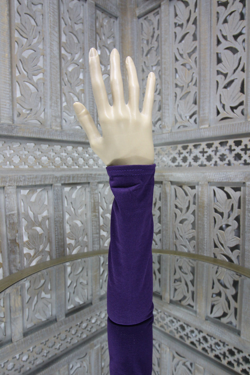 Aubergine Sleeve Islamic Clothing Accessories Online