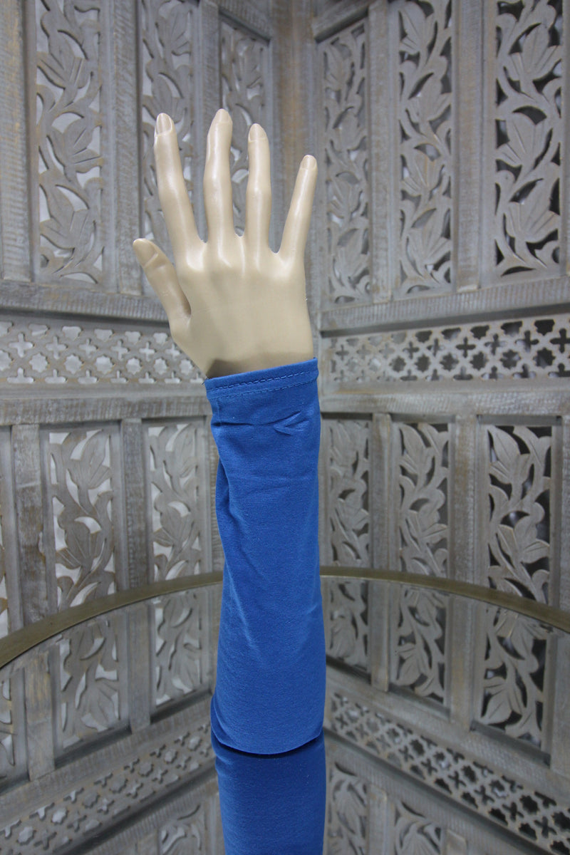 Blue Long Sleeve Islamic Clothing Accessories Online