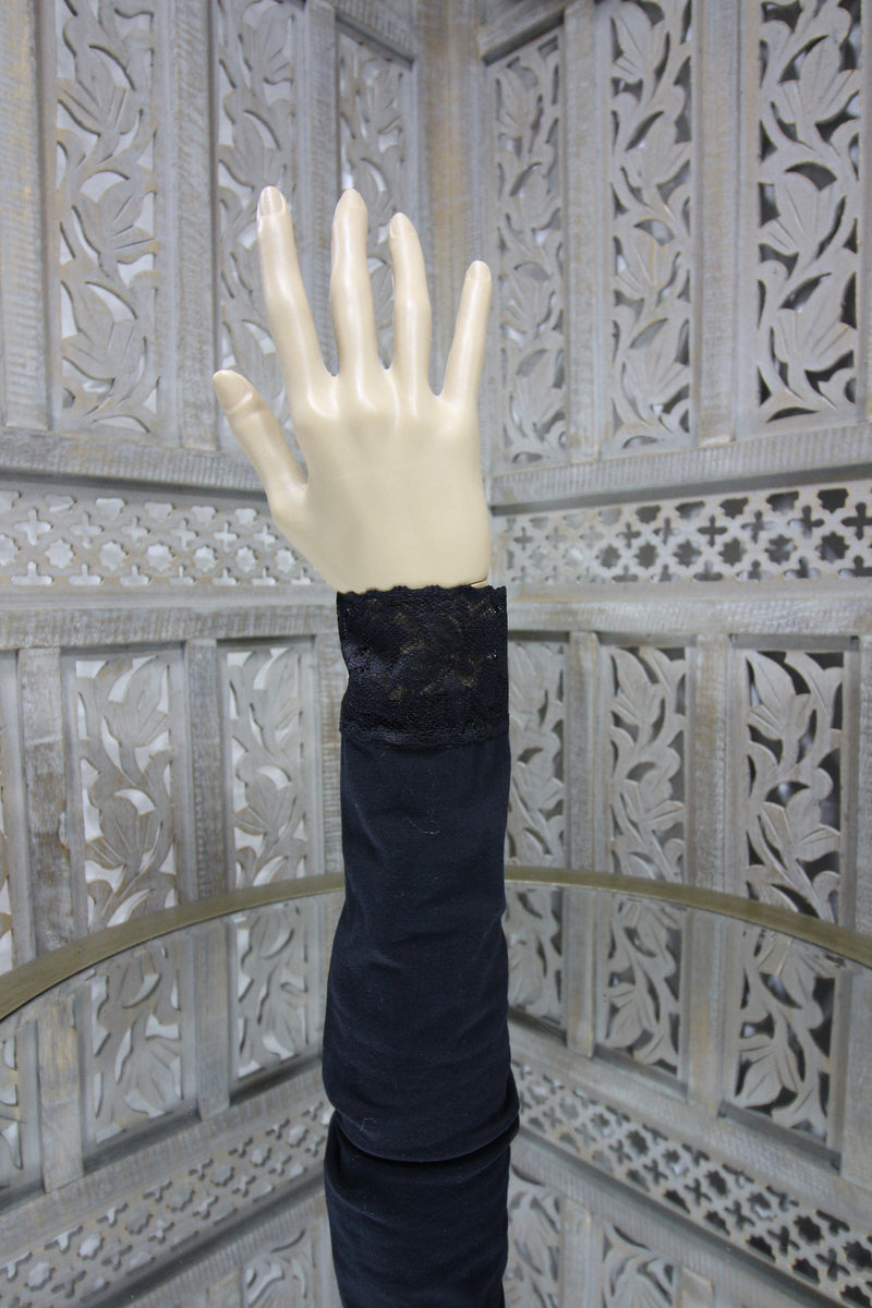 Black Sleeve Islamic Clothing Accessories Online
