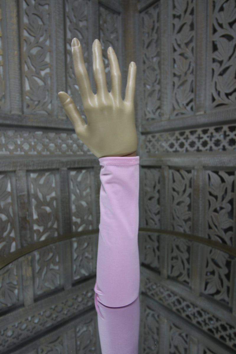 Pink Lycra Sleeve Islamic Clothing Accessories Online