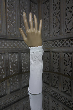 White Sleeve Islamic Clothing Accessories Online