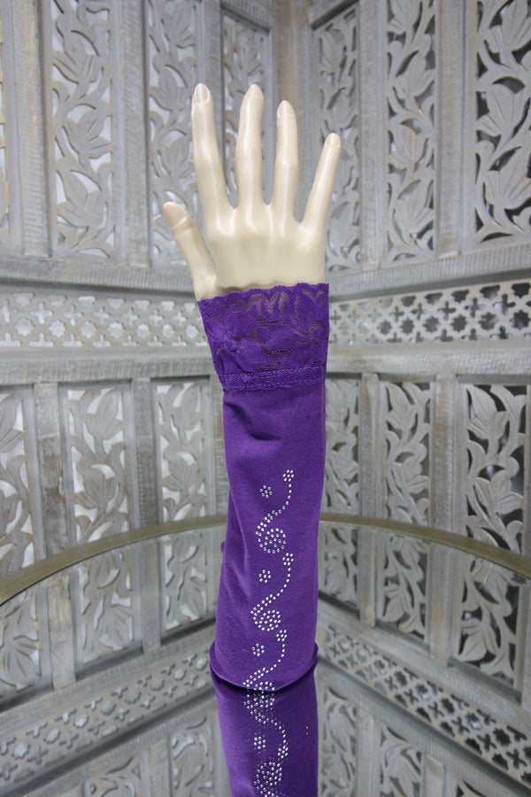 Purple Sleeve Islamic Clothing Accessories Online