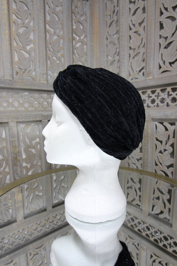 Black Velvet Turban Islamic Clothing Online