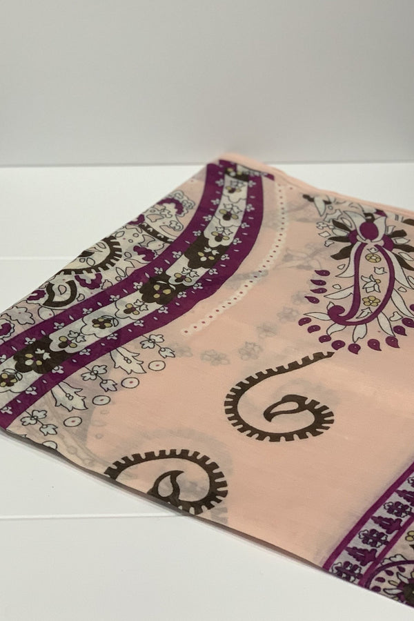 Cotton Swirl Square Hijab UK