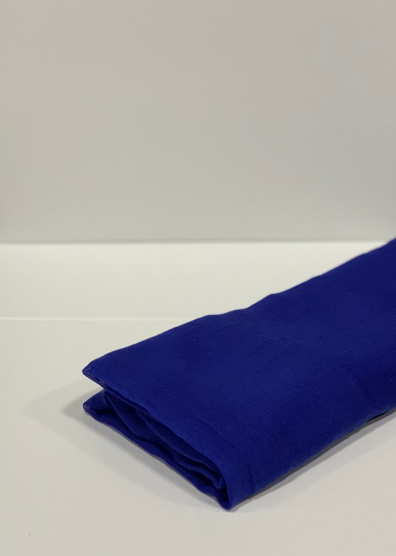 Royal Blue Plain Hijab Online Hijab UK