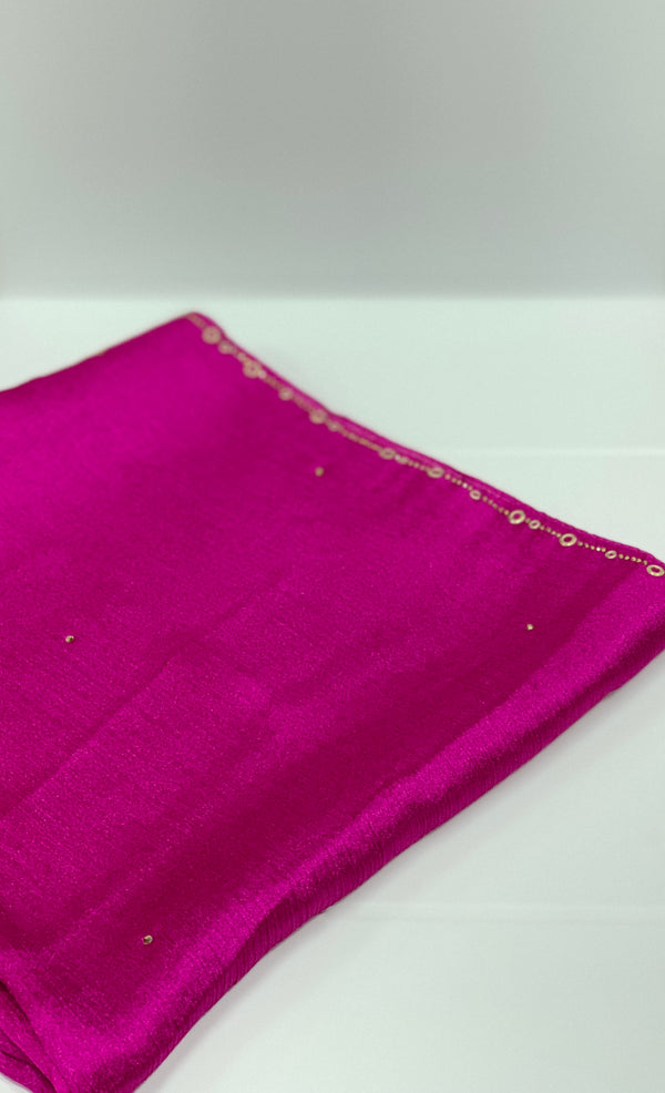 Kashkha Silky Diamante Hijab UK