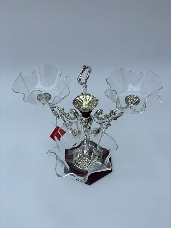 Decorative Serving Vase with three bowls