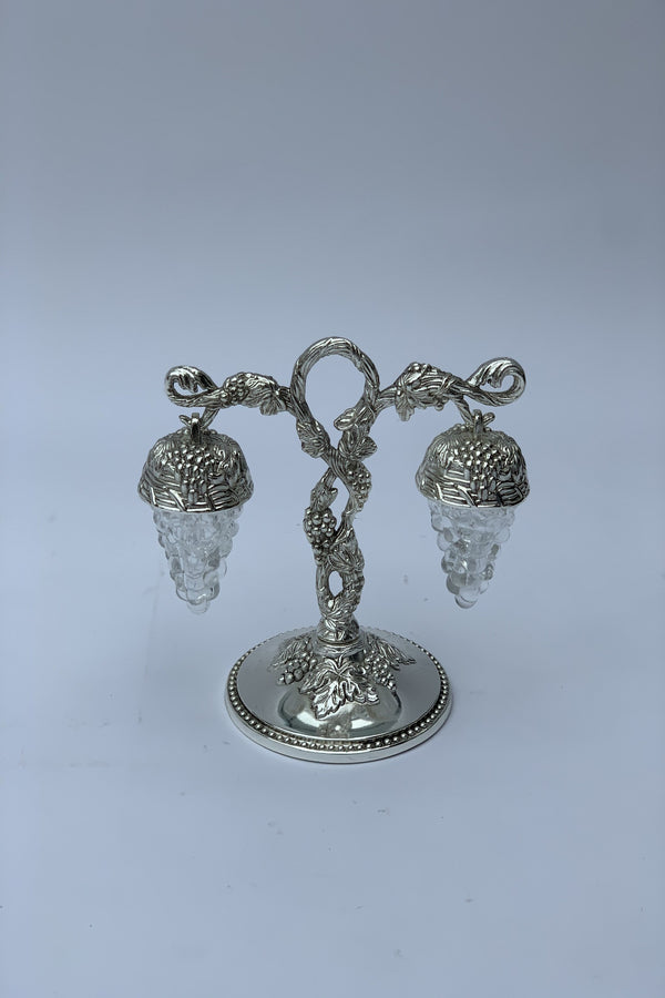 Silver Effect Hanging Salt and Pepper Shaker