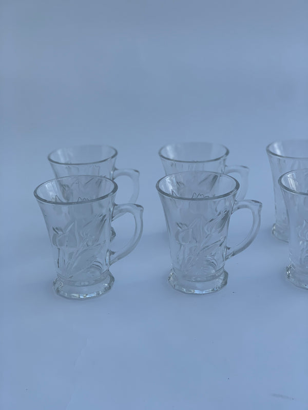 Tulip Glass Tea Cups