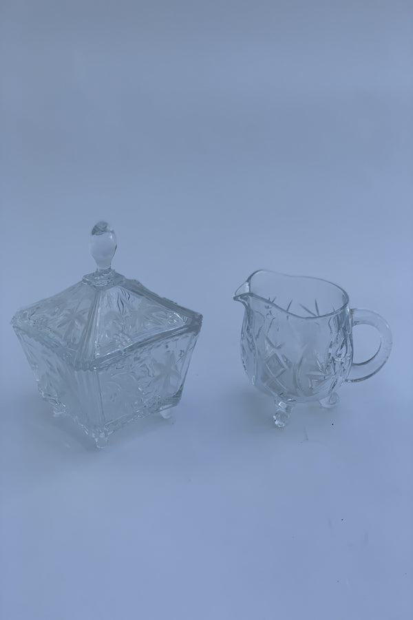 Milk jug and Sugar Pot Set