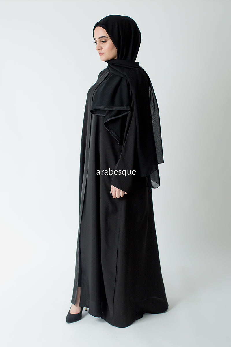 Plain Open Abaya UK