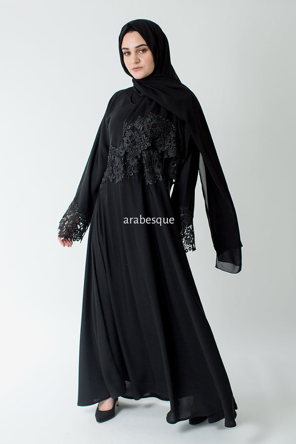 Malica Closed Abaya UK