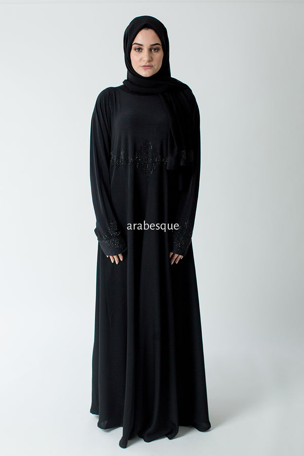Zirkon Black Abaya UK