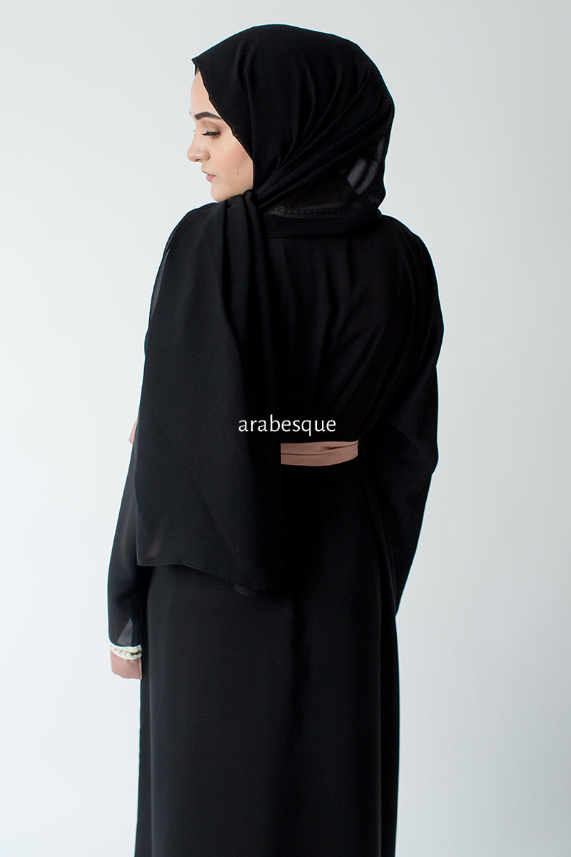 Jewel Blush Closed Abaya Online