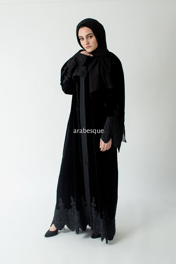 Lujain Open Abaya UK