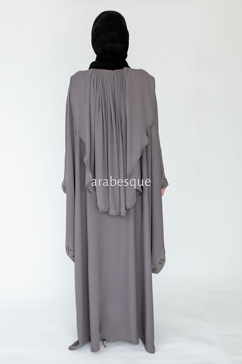 Nebras Batwing Open Abaya UK