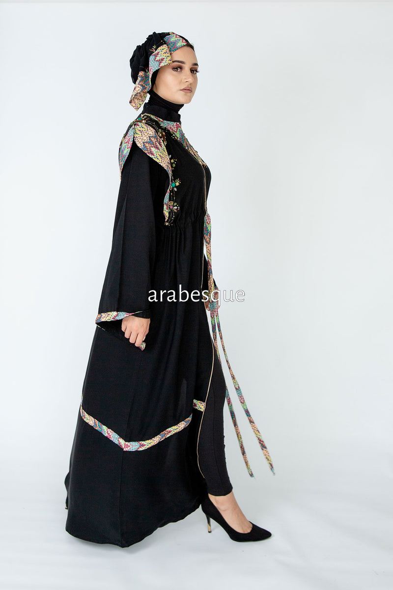Rainbow Abaya UK