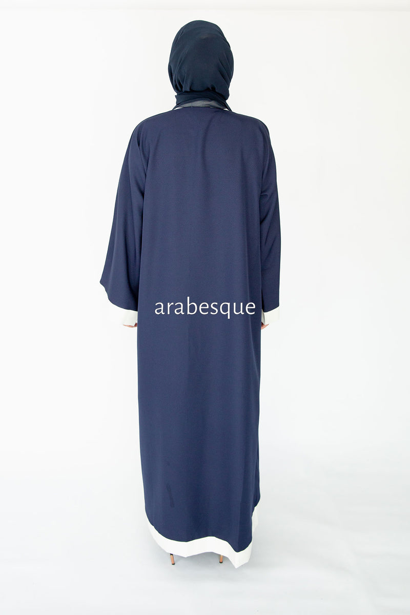 Errai Navy Closed Abaya Online