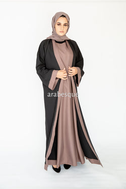 Errai Black Closed Abaya Online