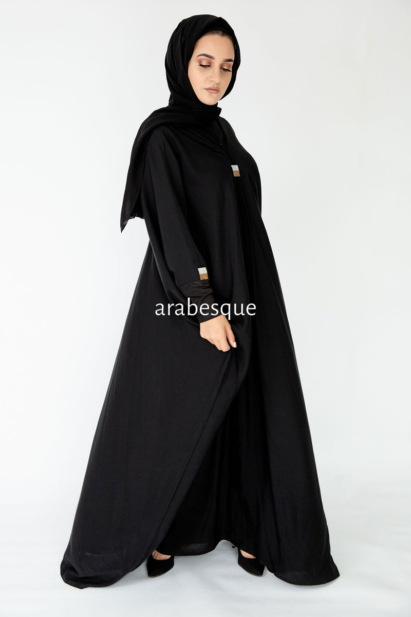 Sahara Gold Abaya UK