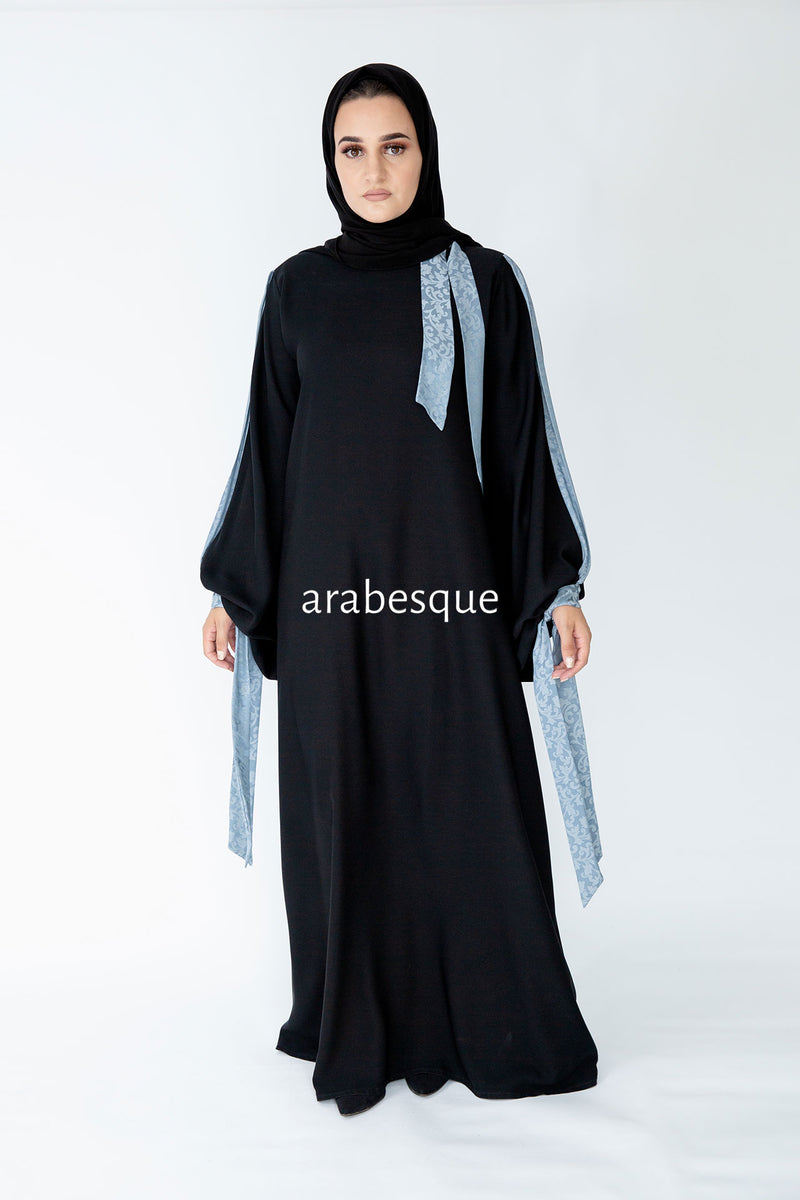 Ribbon Abaya UK