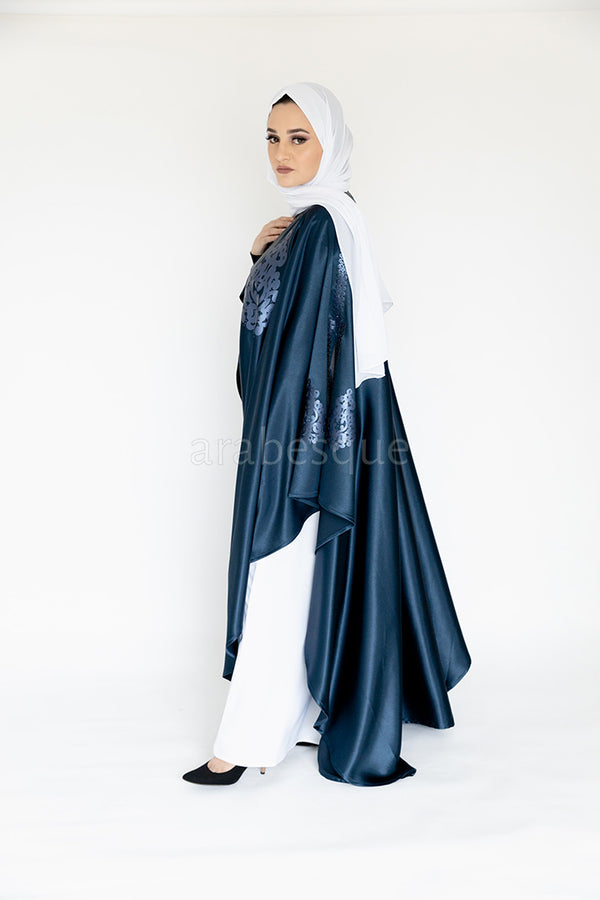 Ghazal Midnight Blue Abaya