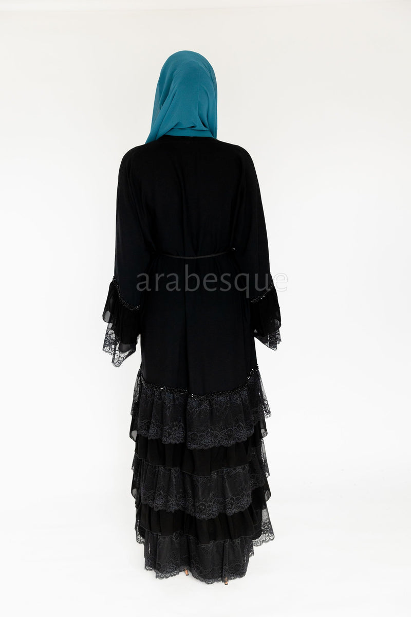 Hadeel Black Abaya UK