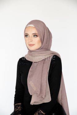 Kashkha Ombre Hijab in Tan