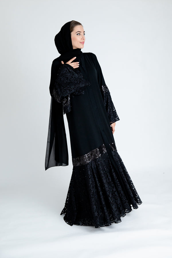 Taleen Black Abaya UK