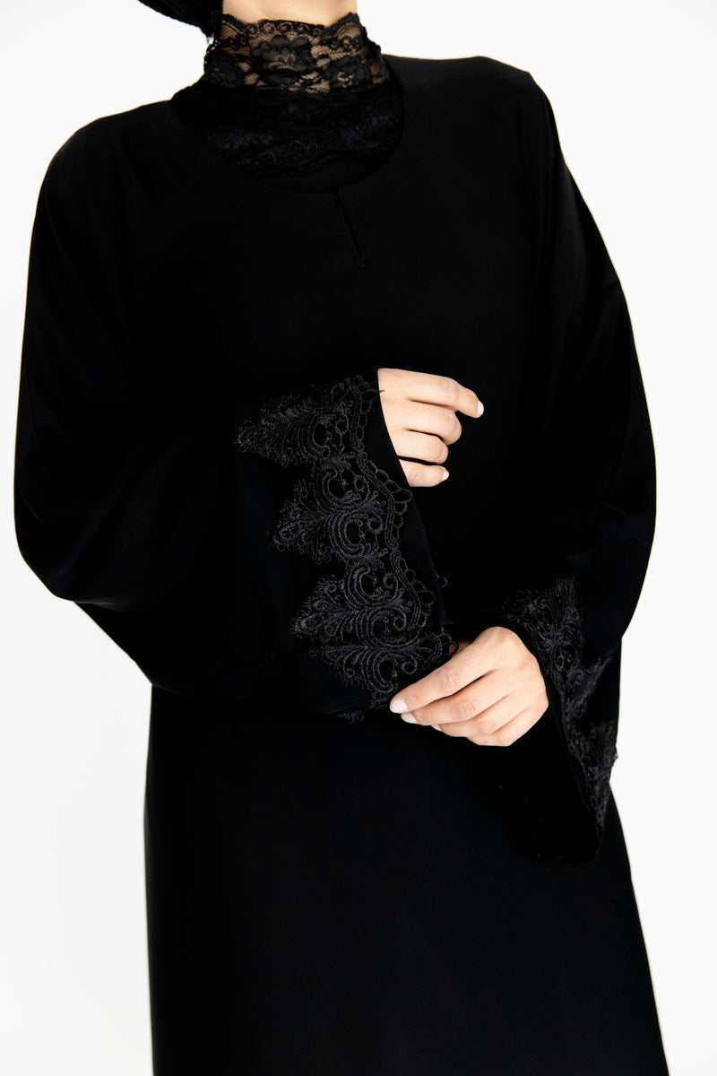 Cerine Black Abaya UK