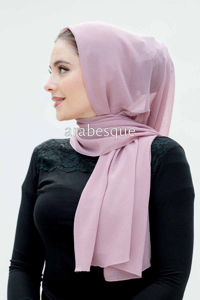Luxury Chiffon Textured Long Hijab