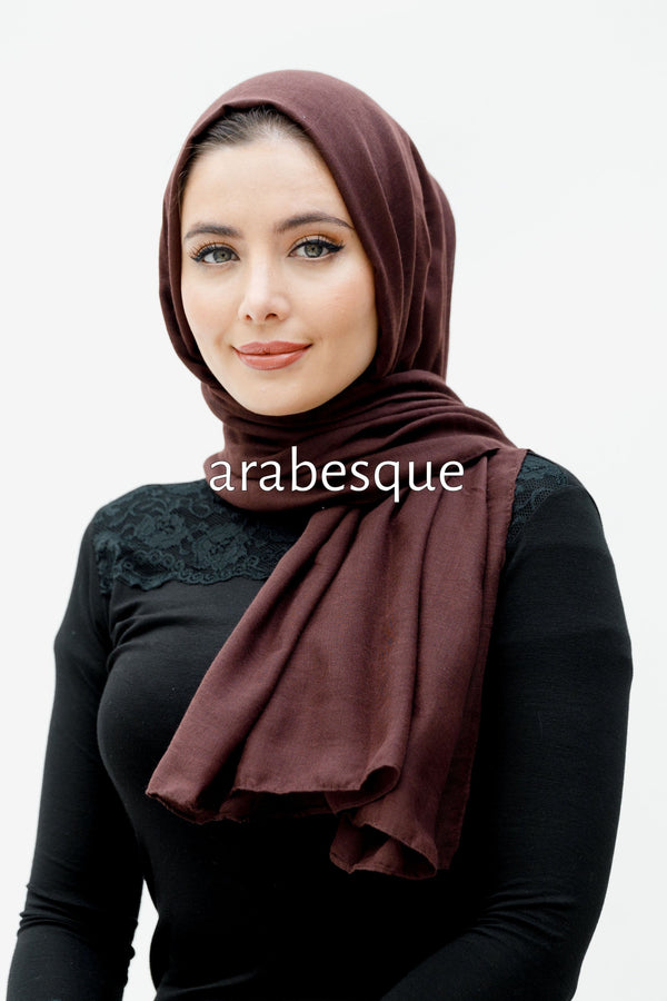 Modal/Viscose Smooth Blend Hijab