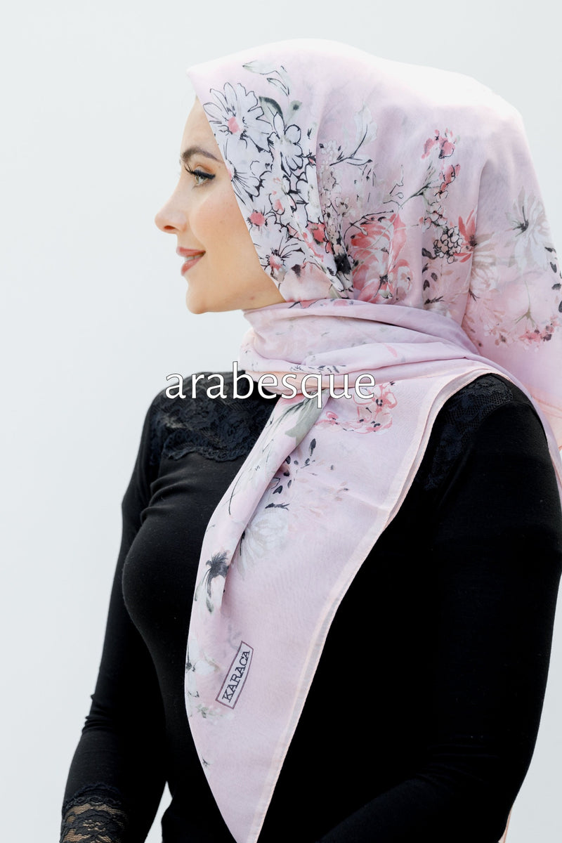 Bloom Square Hijab