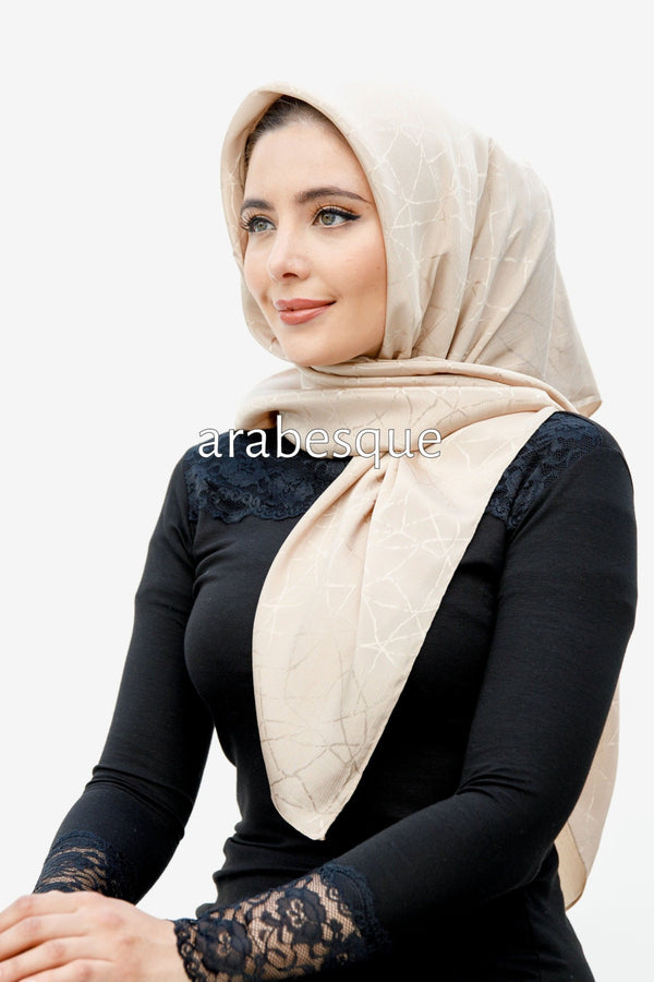Marble Square Hijab